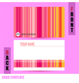 Modern Abstract colorful background template vector image vector image