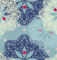 Seamless pattern with circular ornaments like a vector image vector image