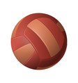 volleyball - modern realistic isolated vector image