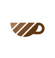 coffee cup icon logo image vector image