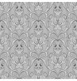 seamless black white wallpaper pattern vector image