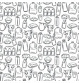 milk product seamless pattern vector image