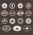 Coffee logo 3 vector image vector image