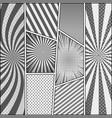 comic monochrome background vector image vector image