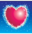 Shiny shiny heart vector | Price: 1 Credit (USD $1)
