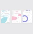Creative cover design geometric background