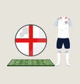 football england sport wear vector image vector image