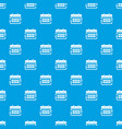 office calendar pattern seamless blue vector image vector image