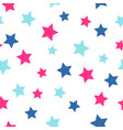 seamless pattern with large stars vector image vector image