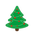 toy fir as decoration for christmas holidays vector image vector image