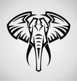 Tribal Elephant vector image vector image