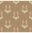 tulip seamless pattern vector image vector image