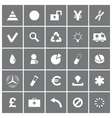 Universal Flat Icons Set 3 vector image