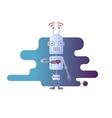 Robot design flat vector image