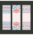 Banners decorative set vector image
