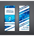 Abstract Geometric Brochure Template Flyer Layout vector image vector image