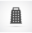 Grater trendy icon vector image vector image