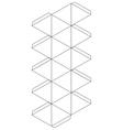Icosahedron vector image vector image