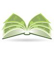 Money Book vector image
