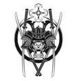 new samurai 0012 vector image vector image