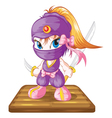 ninja2 vector image