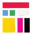 reminder color vector image