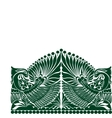 russian ornament folklore ornament withe vector image vector image