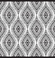 seamless ikat pattern vector image vector image
