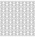 abstract seamless pattern of circles from vector image vector image