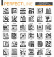 building construction and home repair tools vector image vector image