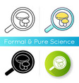 mycology icon vector image vector image