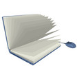 note book vector image vector image
