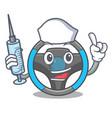 Nurse steering wheel in the character shape