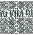 seamless pattern with peruvian motifs vector image vector image
