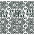 seamless pattern with peruvian motifs vector image
