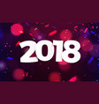 stock defocused happy new year vector image vector image