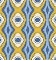 abstract seamless wavy pattern vector image vector image
