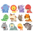 animals cartoons vector image vector image