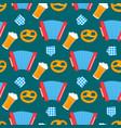 oktoberfest - bavarian festival seamless pattern vector image vector image