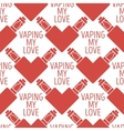 pattern of the electronic cigarette in vector image vector image
