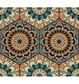 Tile Honey Comb Hex Pattern Flower Mandala vector image