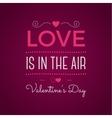 Valentine day typography photo typography vector image