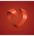 Heart Ribbon vector image