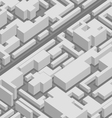 abstract 3d city background