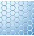 Abstract blue tiled background vector image vector image