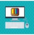 application service design vector image vector image