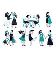 female friendship girls friends together women vector image vector image