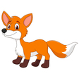 Fox cartoon vector image vector image
