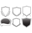 Hip Badges vector image vector image