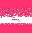 icons of social media network activity vector image
